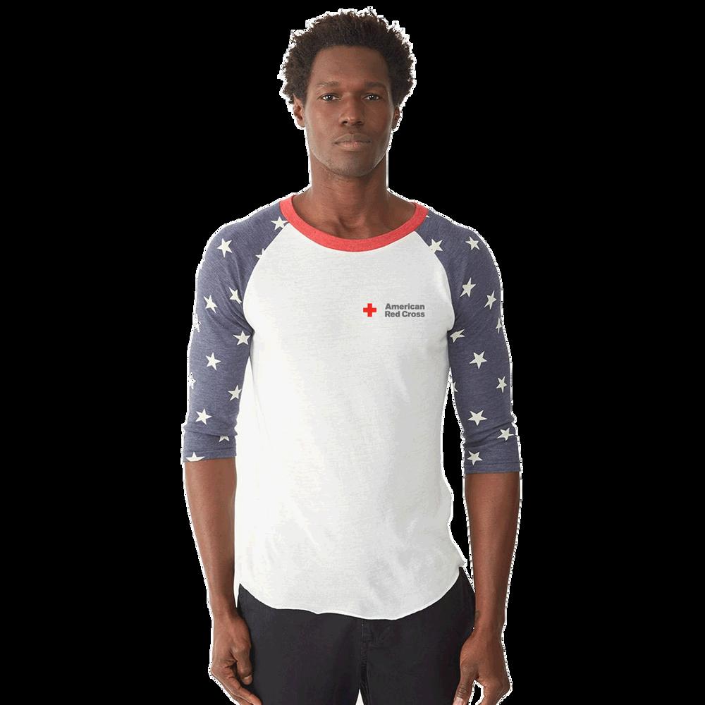 7ed36231fc Unisex Eco-Jersey Raglan Baseball T-Shirt | Red Cross Store