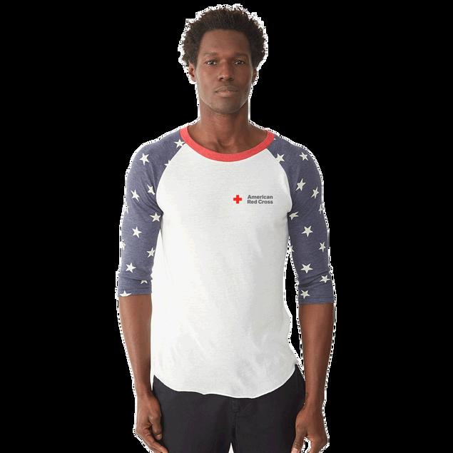 Unisex Eco-Jersey 3/4 Sleeve Raglan Baseball T-Shirt