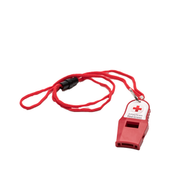 Red Cross Lifeguard Whistle