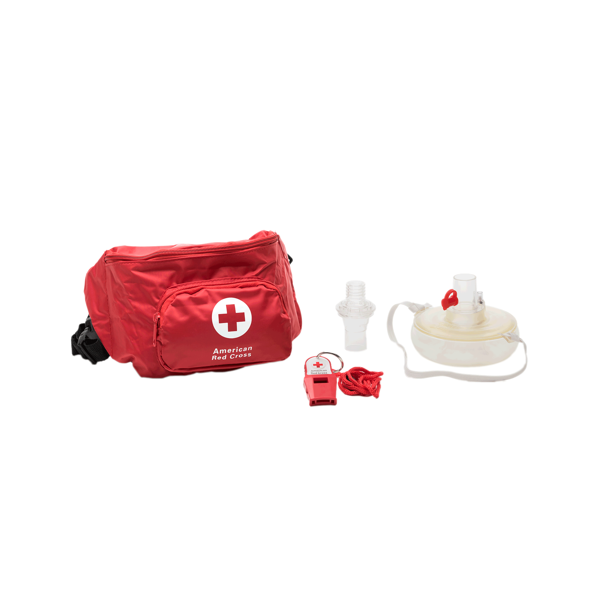 10b9007382c Lifeguard hip pack with seal quik mask and whistle red cross store png  1000x1000 Red cross