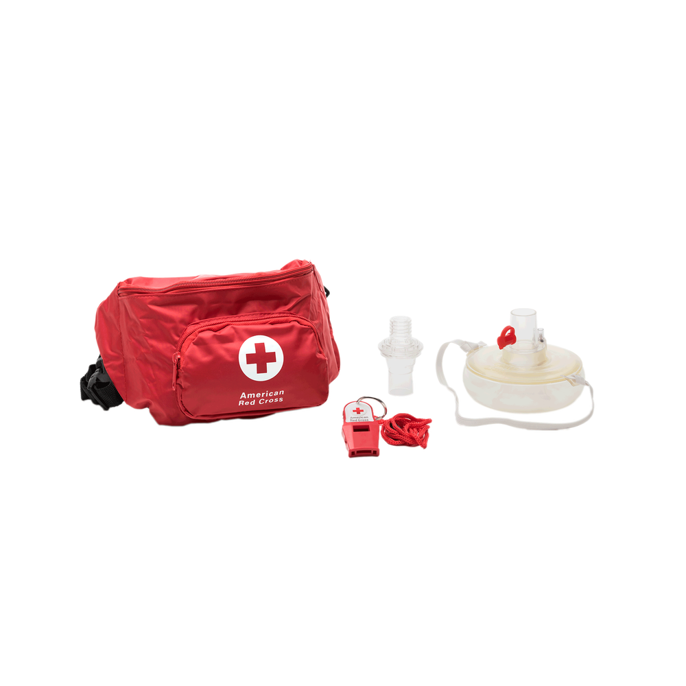 Cpr masks face shields red cross store lifeguard hip pack with seal quik mask and whistle 1betcityfo Gallery