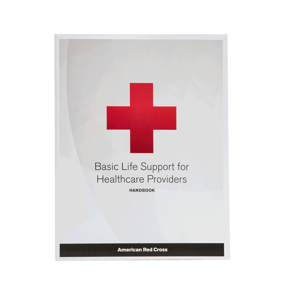 Basic Life Support For Healthcare Providers Handbook Red Cross Store