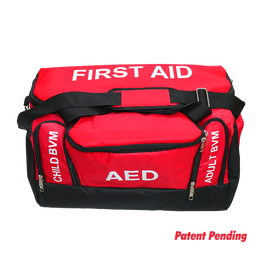 EMT/EMS/First Responder Bag with First Aid Pocket