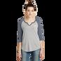 Women's 3/4 Length Sleeve Vintage T-Shirt
