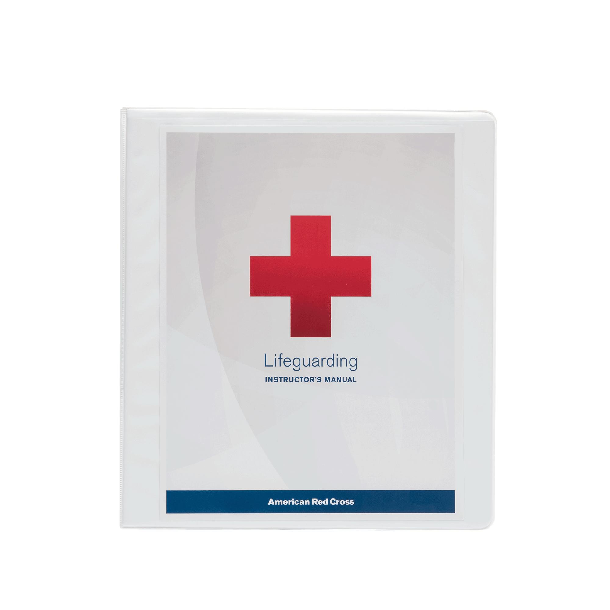 lifeguarding instructor s manual red cross store rh redcross org Red Cross ManualDownload Red Cross Lifeguard Book