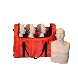 BigRed Adult CPR Manikin with LED Light CPR Feedback- 4 Pack