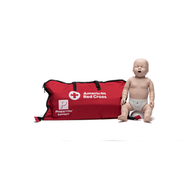 Medium Skin Infant Manikin with CPR Monitor