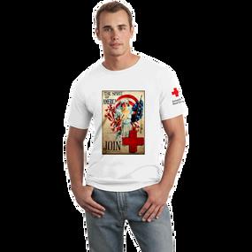 Unisex T-Shirt with Spirit of America Vintage Print