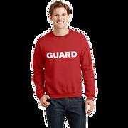Unisex Crew Neck Sweatshirt - GUARD Print