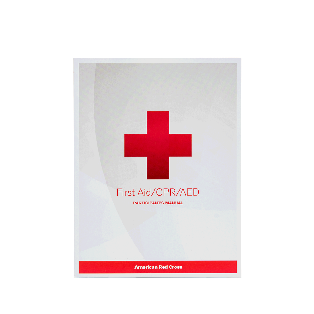 First Aidcpraed Participants Manual Red Cross Store
