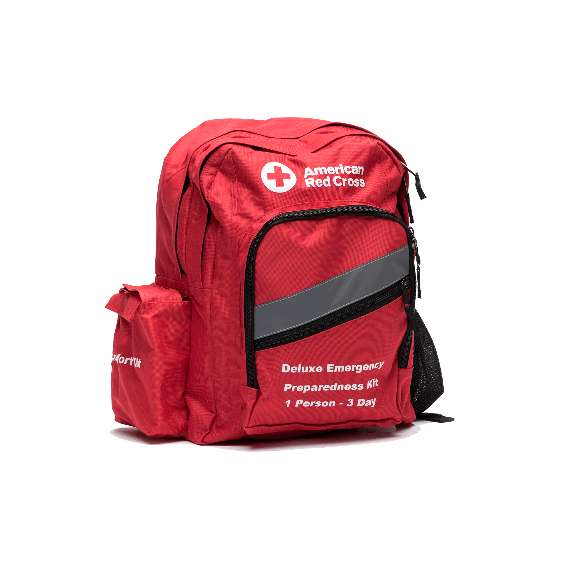 Red Cross Backpack First Aid Kit Medical Emergency Survival bag Best Selling FRE