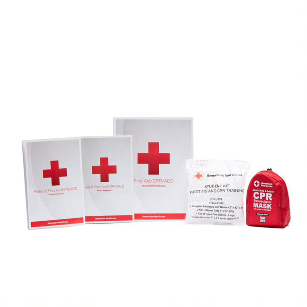 Customized First Aidcpraed Training Kit Red Cross Store