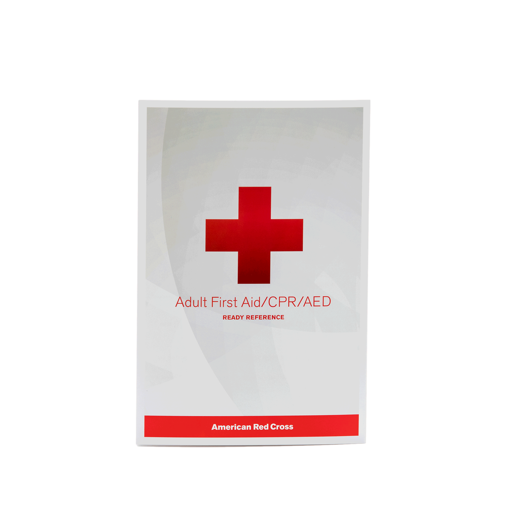 Adult First Aid/CPR/AED Ready Reference
