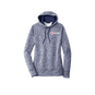 Heather Fleece Hooded Pullover - Ladies