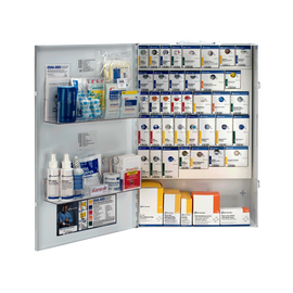 200 Person XXL Metal SmartCompliance First Aid Cabinet without Medication