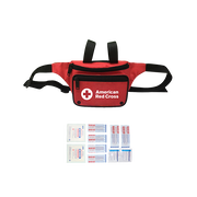 Red Cross 3 Pocket Lifeguard First Aid Hip Pack
