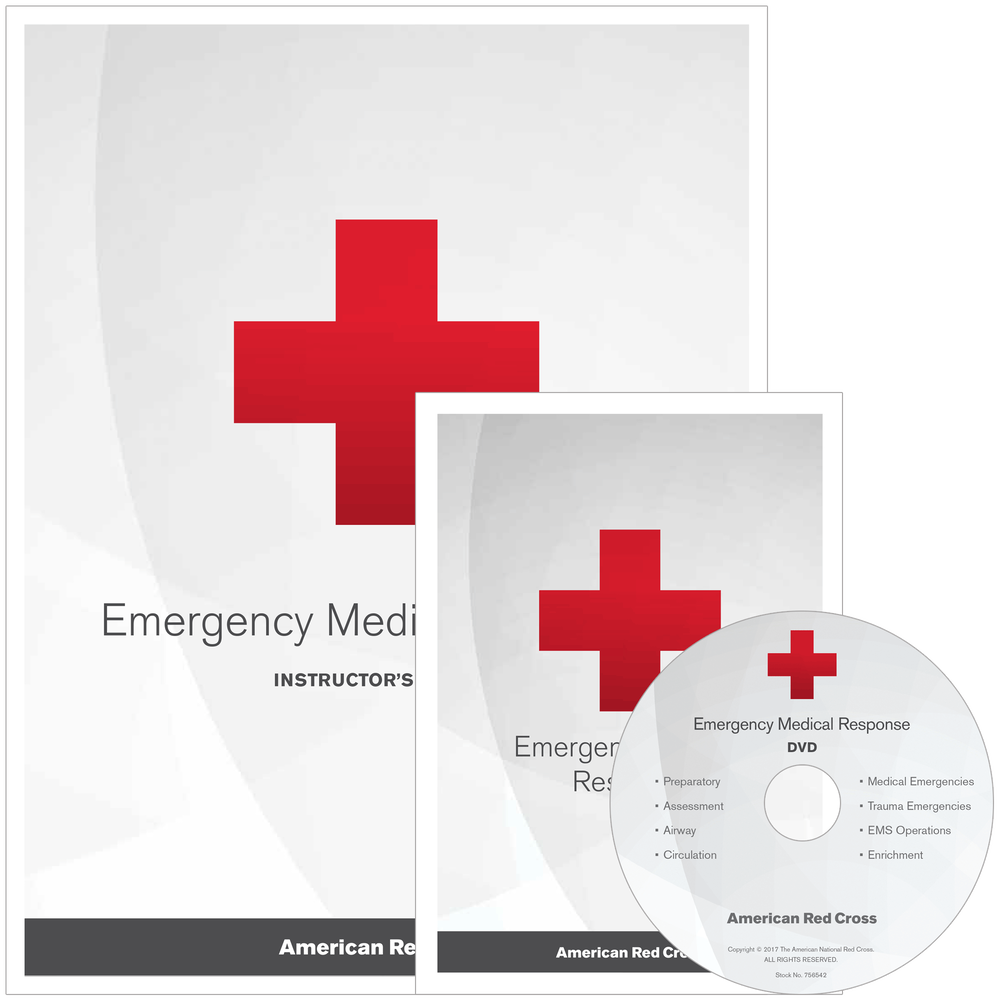 Emergency Medical Response Instructors Kit Red Cross Store
