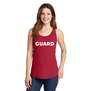 Women's Port & Company Core Cotton Tank Top - GUARD Print