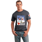 Unisex T-Shirt with Give Vintage Print