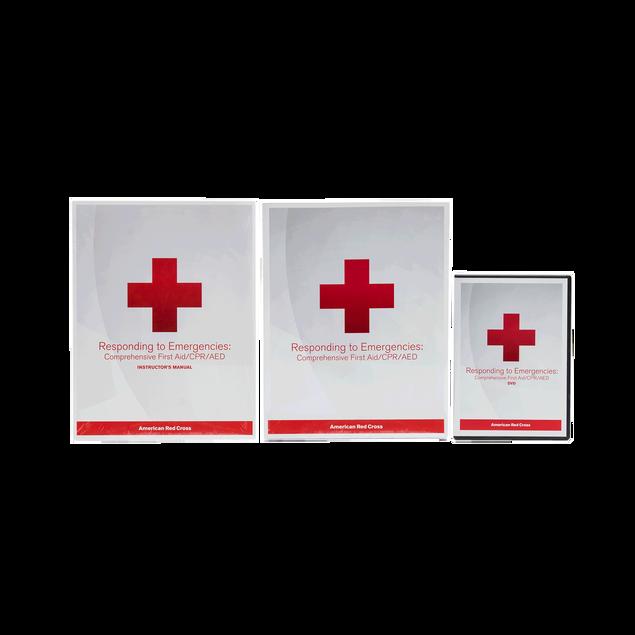 Responding To Emergencies Deluxe Instructors Kit Red Cross Store