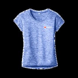 Sport-Tek Women's PosiCharge Electric Heather Sporty T-Shirt