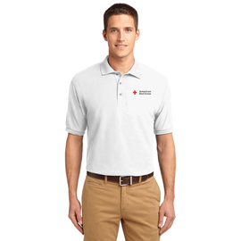 Men's Cotton/Poly Blend Polo Shirt