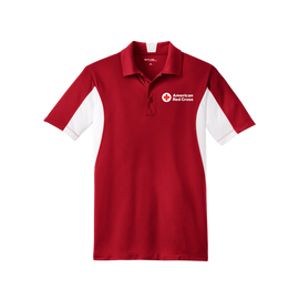 Mens Side Block Polo