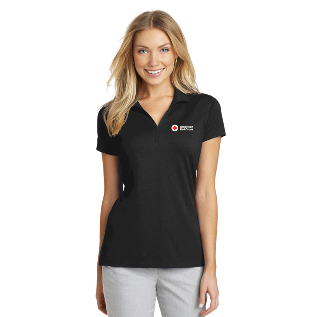Women's Rapid Dry Mesh Polo Shirt