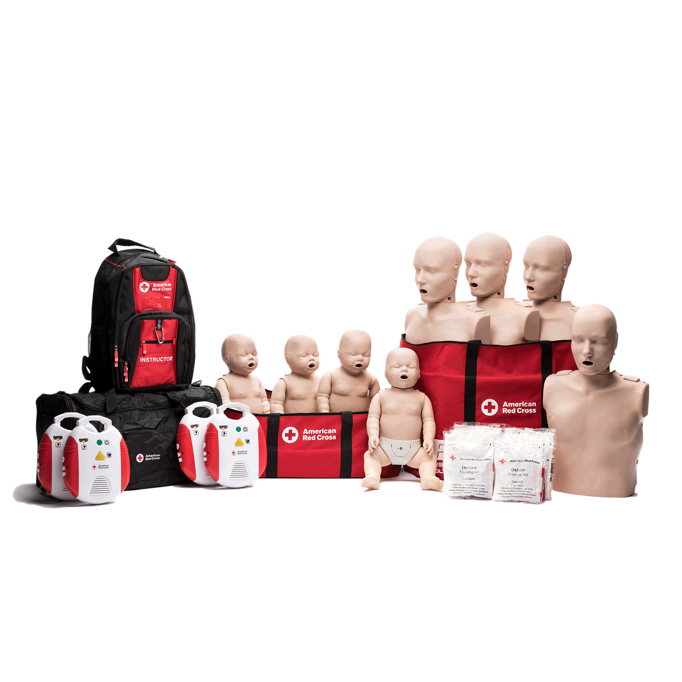 Class Redcross Orgsabawebmain: Instructor Starter Package With CPR Monitor And New AED