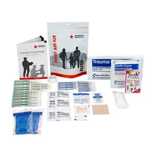 Auto First Aid Zip Kit