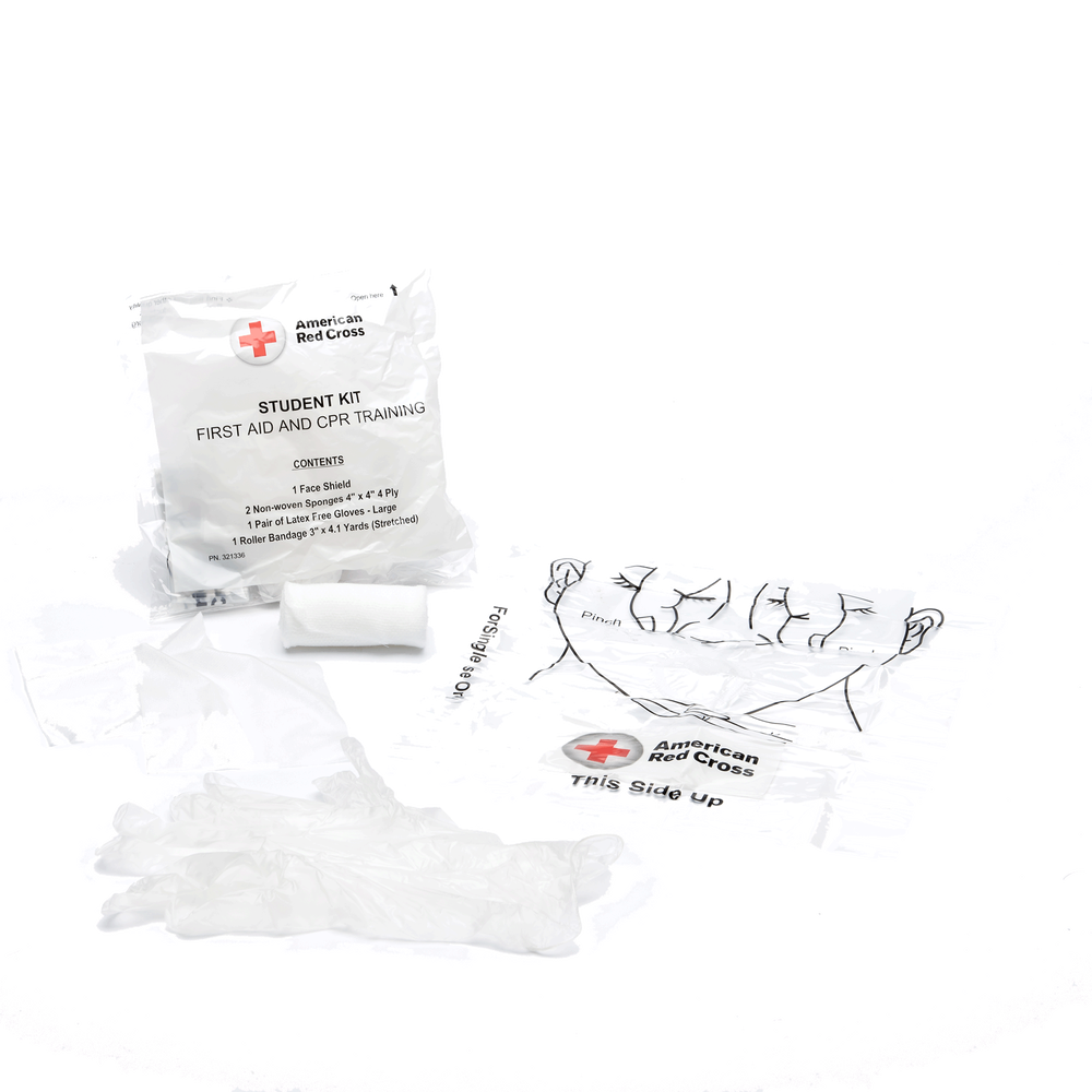 First aid and cpr combination training pack with no splint pk100 images 1betcityfo Images