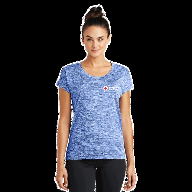Women's Sport-Tek PosiCharge Electric Heather Sporty T-Shirt