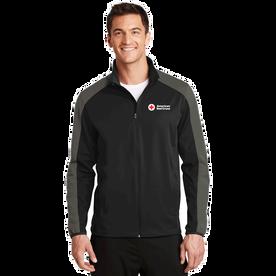 Men's Active Colorblock Soft Shell Jacket