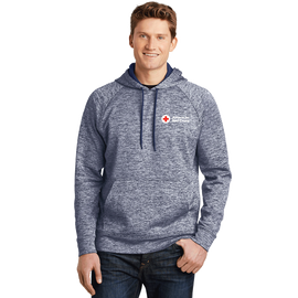 Men's Heather Fleece Pullover Hoodie
