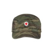 Distressed Field Service Military Hat