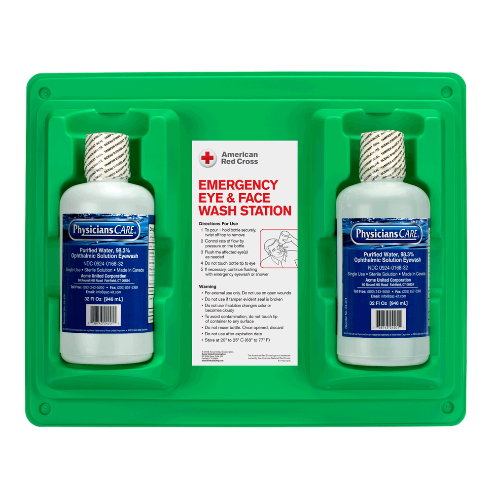 emergency eye face wash double station 32oz emergency eye face wash double station 32oz emergency eye face wash double station 32oz - Eye Wash Station Osha