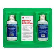 Emergency Eye & Face Wash Double Station, 32oz