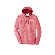 Heather Fleece Hooded Pullover - Mens