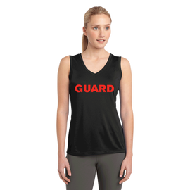 Women's V-Neck Tank Top - GUARD