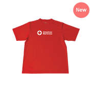 Red Cross Rash Guard T-Shirt