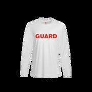 Men's Rash Guard Long SleeveShirt - GUARD Print