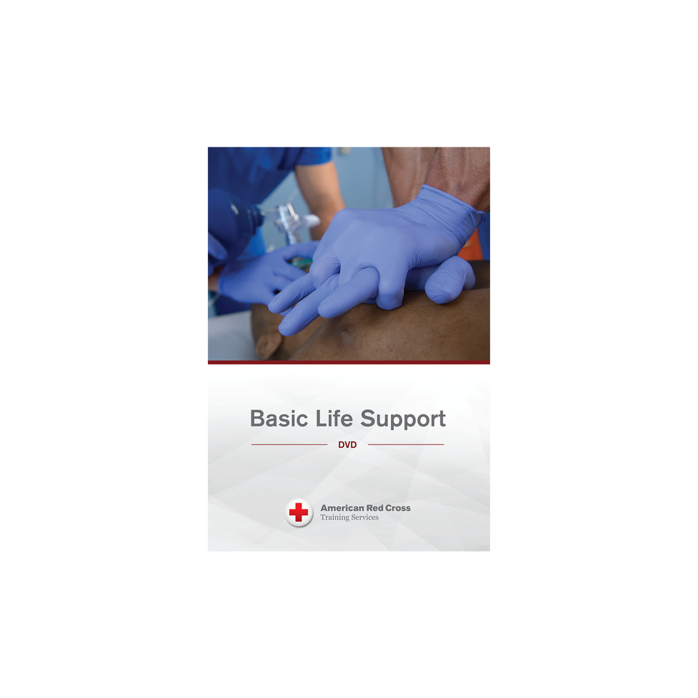 American Red Cross Basic Life Support Dvd Red Cross Store