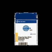 Fingertip Visible Blue Metal Detectable Bandage