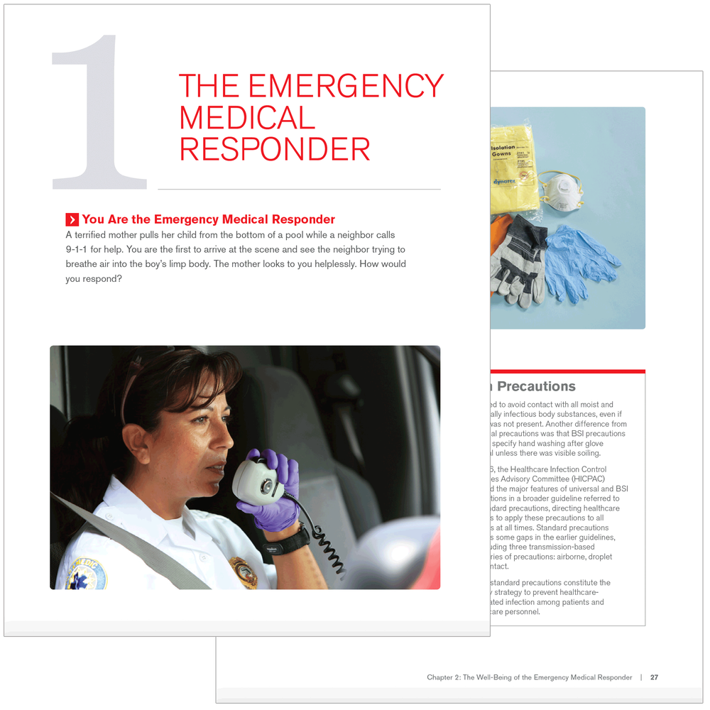 Emergency medical response textbook red cross store images fandeluxe Gallery