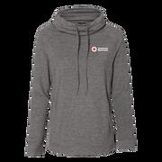 Women's Faux Cashmere Funnel Neck Sweatshirt