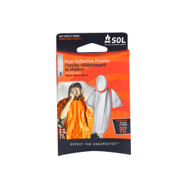 SOL Heat Reflective Survival Poncho