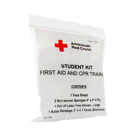 First Aid and CPR Combination Training Pack with No Splint, Pk/100