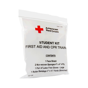 First Aid and CPR Combination Training Kit with No Splint, Pk/100