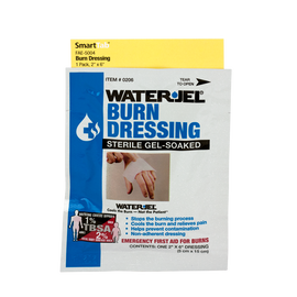 2 in. x 6 in. Water Jel Burn Dressing