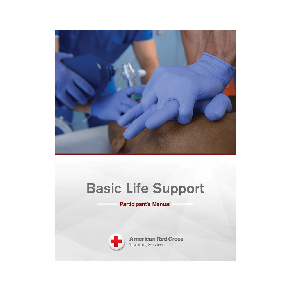 American Red Cross Basic Life Support Participants Manual Red